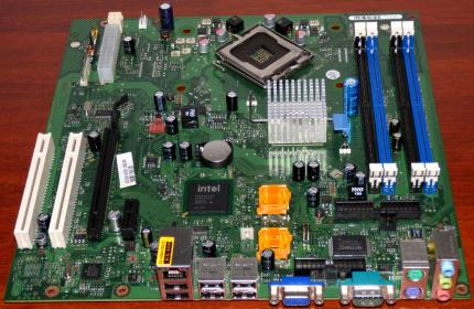 Fujitsu Siemens D2581-A12-GS1 Mainboard W26361-W1491-Z2-03-36 Sockel: 775 Intel NH82801IB sSpec: SLA9M LAN, VGA & Sound on Board, PCI-e, 4x RAM, 4x SATA, W26361-W1491-X-03 Europe 2008
