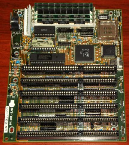 TMC Research Corporation PAT3XA V-2.0 AMD Am386-SX40 CPU, 4MB SIMM RAM, ALI M1217, Amibios 1992