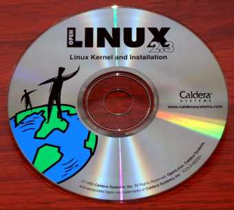 Cladera Systems - OpenLinux 2.3 CD 1999