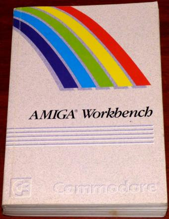 Commodore Amiga Workbench Teile-Nr: 368-365-01 Rev. 1 Erster Druck 1991
