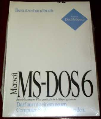 MS-DOS 6 Disketten in OVP
