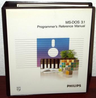 Microsoft MS-DOS 3.1 Programmers Reference Manual Philips 1986