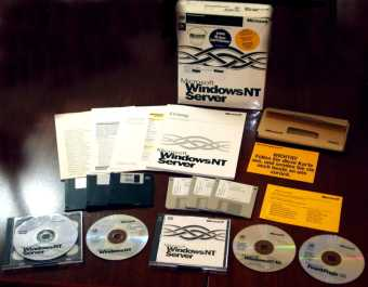 Microsoft Windows-NT4 Server 10-Clients