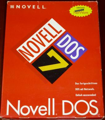 Novell DOS 7 inklusive Personal NetWare