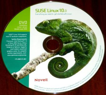 SuSE Linux 10.0 - Novell 5CDs &1DVD