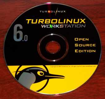 TurboLinux 6.0 Workstation Open Source Edition CD 2000