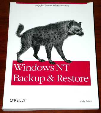 Windows NT Backup & Restore O'Reilley